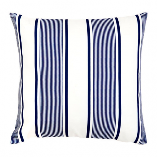 Kai Blue and White Outdoor Cushion | 50x50 CM
