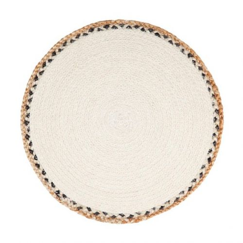 Linnet Jute Braided Round Placemat (Set of 4)