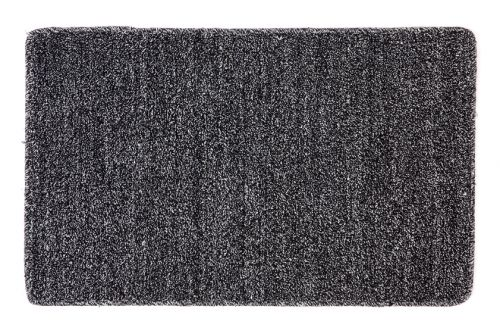 Polycot Black Non Slip Kitchen Mat