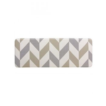 Herringbone Gainsboro Laundry & Kitchen Mat