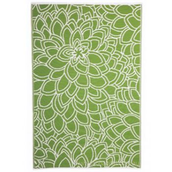 Eden Lime Outdoor Rug