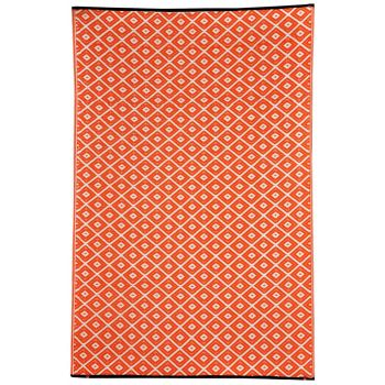 Kimberley Orange Outdoor Rug