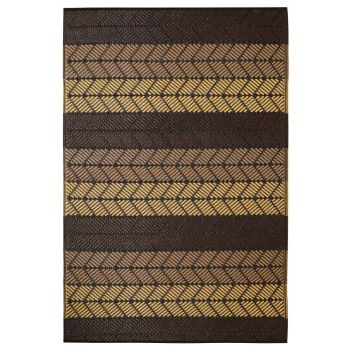 Seattle Chestnut and Summer Melon Outdoor Rug