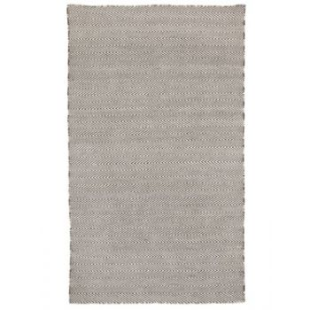 Herringbone Ash Grey Indoor Outdoor Rug