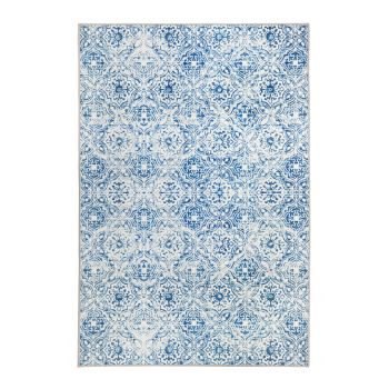 Mozaic Tiles Blue Floor Mat