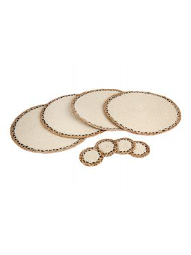 Linnet | Set of 4 Placemats and Coasters