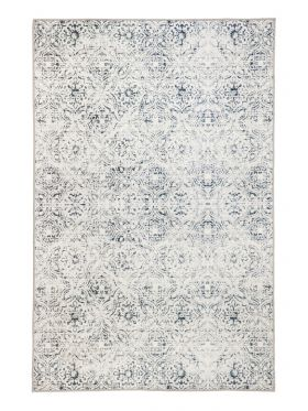 Mozaic Tiles Grey Designer Area Rug