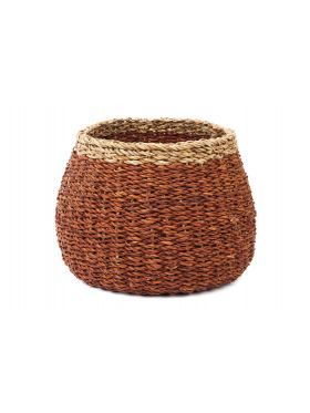 Ajni Brown Handmade Seagrass Basket