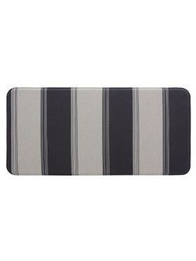 Stripe Deep Cavern Laundry & Kitchen Mat