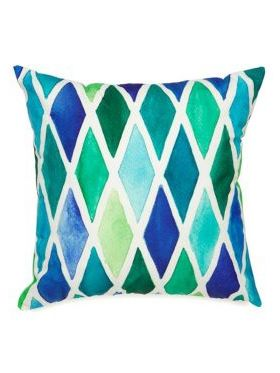 Blue Diamond Outdoor Cushion | 45x45 CM