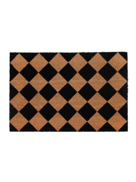 Diamond PVC Backed Coir Door Mat