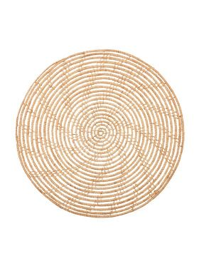 Magpie Palm Fibre Round Placemat (Set of 4)