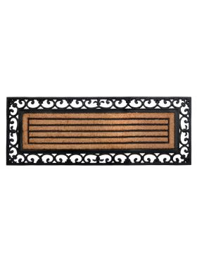 Nautica Rubber Bordered Coir Door Mat 45 cm x 120 cm