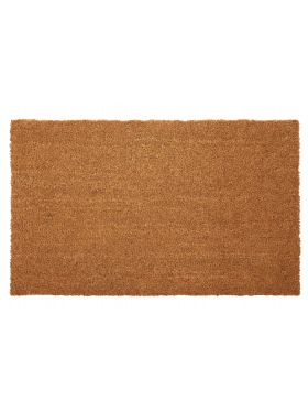 Nubra Plain Natural PVC Backed Coir Door Mat