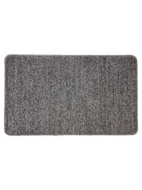 Polycot Grey Bathroom Mat