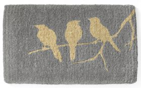 Birds On Branch 100% Coir Doormat - 45x75 CM