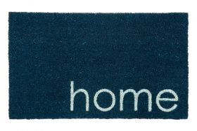 Blue Home PVC Backed Coir Door Mat