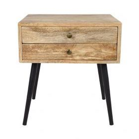 Zen Mango Wood Side Table