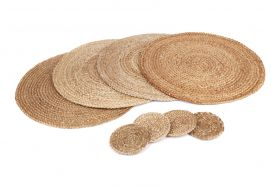 Willow | Set of 4 Placemats and Coasters