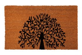 Tree of Life PVC Backed Doormat