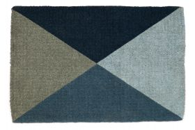 Blue Flag 100% Coir Doormat