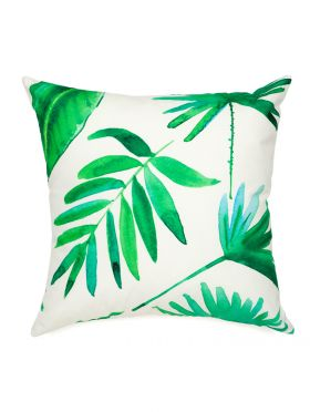 Botanica Green Outdoor Cushion