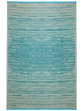 Brooklyn Teal Outdoor Rug