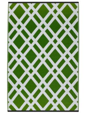 Dublin Lime Outdoor Rug
