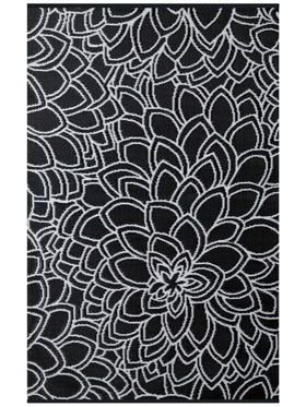 Eden Black Outdoor Rug