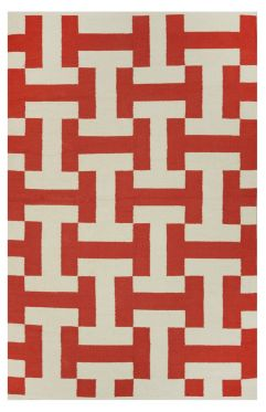 Canal Paprika Indoor Cotton Rug
