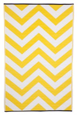 Laguna Yellow Outdoor Rug