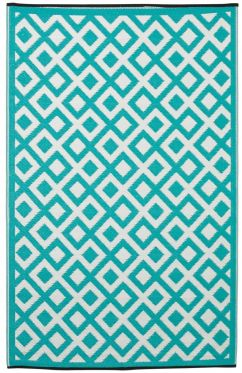 Marina Sea Green Outdoor Rug