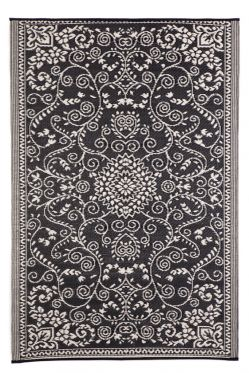 Murano Black Outdoor Rug