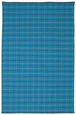Theory Blue Cotton Rug