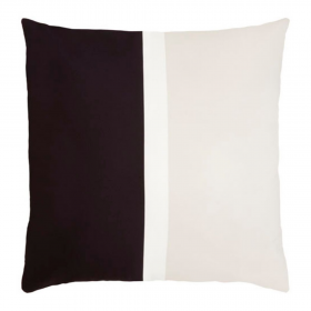 Faro Black and Beige Outdoor Cushion | 50x50 CM