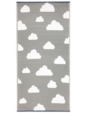 Little Portico's Clouds Indoor/Outdoor Kids Rug
