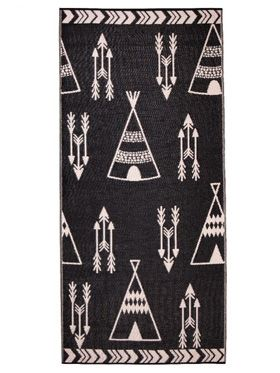 Little Portico's Teepee Indoor/Outdoor Kids Rug