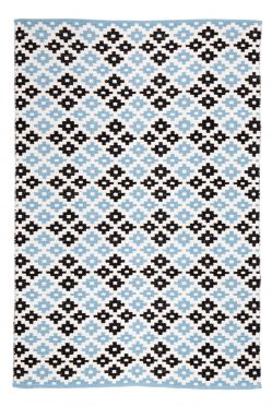 Megh Blue Indoor Cotton Rug