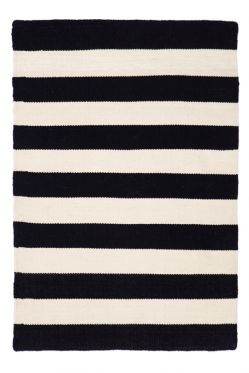 Nantucket Black Indoor Outdoor Rug
