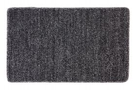 Polycot Black Multipurpose Door Mat