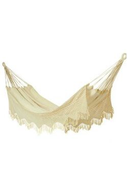 Carmen 100% Cotton Crochet Hammock - Single