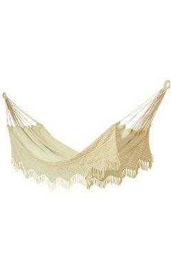 Carmen 100% Cotton Crochet Hammock - Double