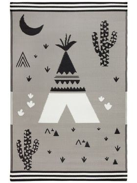 Teepee Indoor/Outdoor Kids Rug