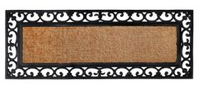 Vista Rubber Bordered Coir Door Mat - 45 cm x 120 cm