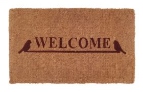 Welcome 100% Coir Door Mat