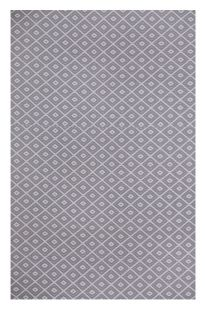 Kimberley Grey and White Outdoor Rug