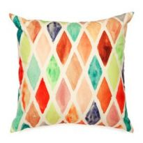 Yellow Diamond Outdoor Cushion