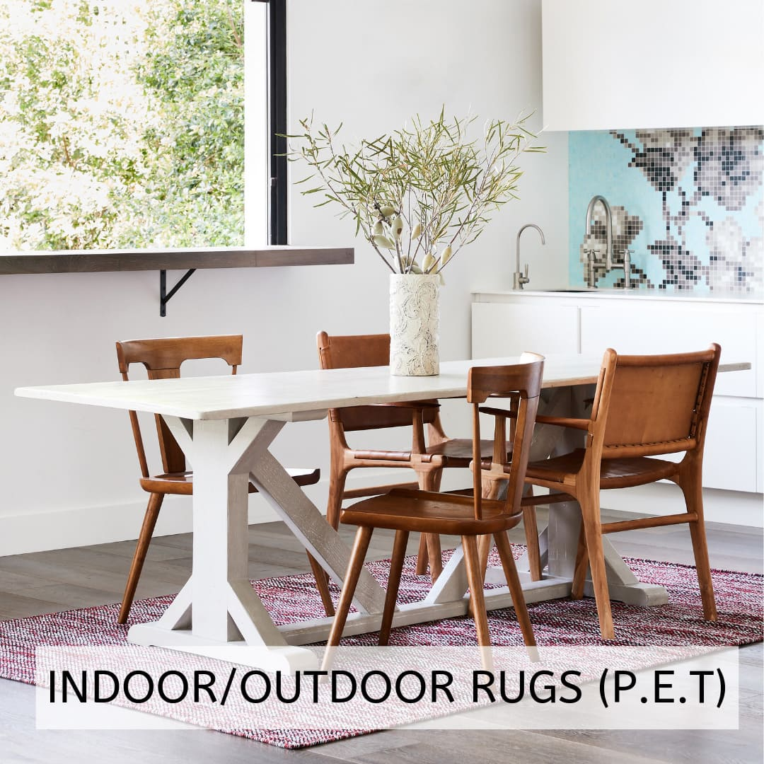 Indoor Outdoor Rugs (P.E.T)